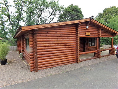 Tyne & Tweed Log Cabins with hot tub (Felmoor Park)